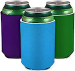 Blank Sewn Neoprene Collapsible Can Coolers